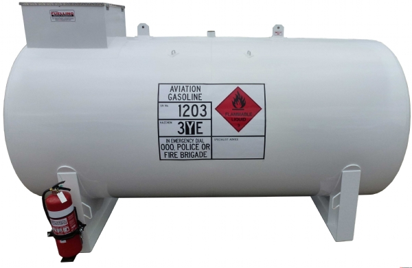 Aviation Fuel Tank 5000 Litre For Avgas